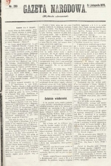 Gazeta Narodowa (wydanie wieczorne). 1870, nr283