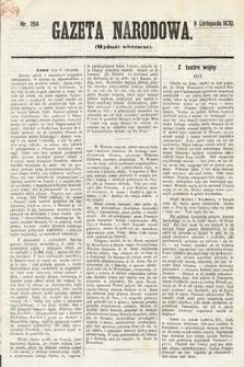 Gazeta Narodowa (wydanie wieczorne). 1870, nr284
