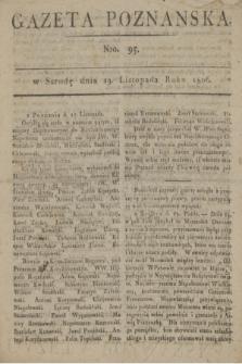 Gazeta Poznańska. 1806, Nro. 95 (19 listopada)
