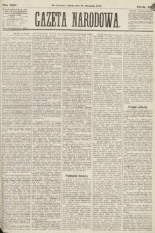 Gazeta Narodowa. 1870, nr287