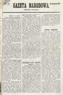 Gazeta Narodowa (wydanie wieczorne). 1870, nr291