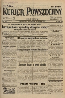 Kurjer Powszechny. 1935, nr228
