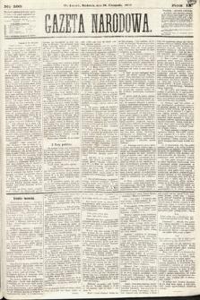 Gazeta Narodowa. 1870, nr295
