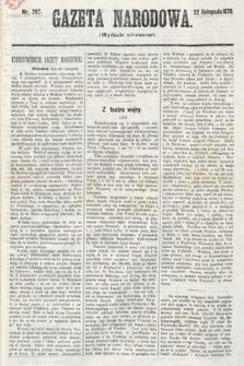 Gazeta Narodowa (wydanie wieczorne). 1870, nr297