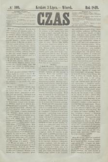 Czas. [R.2], № 109 (3 lipca 1849)