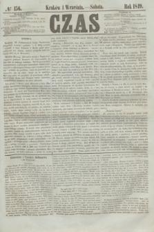 Czas. [R.2], № 156 (1 września 1849)