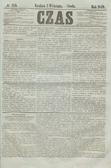 Czas. [R.2], № 159 (5 września 1849)