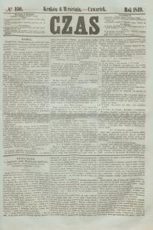 Czas. [R.2], № 160 (6 września 1849)