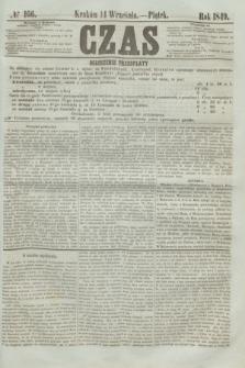 Czas. [R.2], № 166 (14 września 1849)