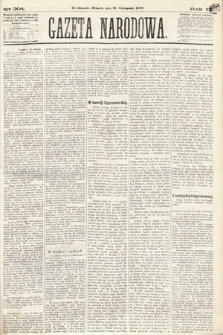Gazeta Narodowa. 1870, nr304