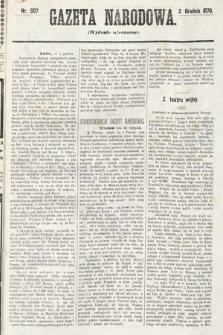 Gazeta Narodowa (wydanie wieczorne). 1870, nr307