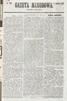 Gazeta Narodowa (wydanie wieczorne). 1870, nr308