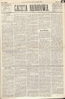 Gazeta Narodowa. 1870, nr309