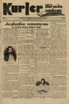 Kurjer Literacko-Naukowy. 1935, nr20
