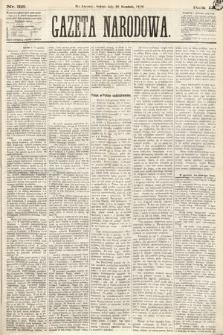 Gazeta Narodowa. 1870, nr315