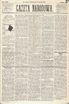 Gazeta Narodowa. 1870, nr316