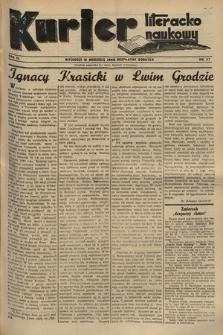 Kurjer Literacko-Naukowy. 1935, nr27