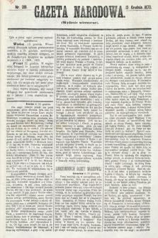 Gazeta Narodowa (wydanie wieczorne). 1870, nr318