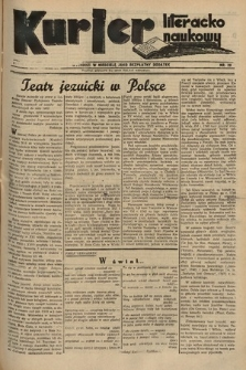 Kurjer Literacko-Naukowy. 1935, nr29