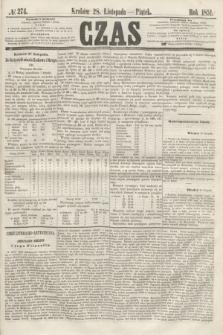 Czas. [R.4], № 274 (28 listopada 1851)