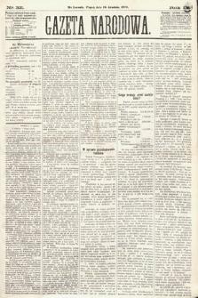 Gazeta Narodowa. 1870, nr321