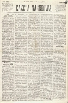 Gazeta Narodowa. 1870, nr322