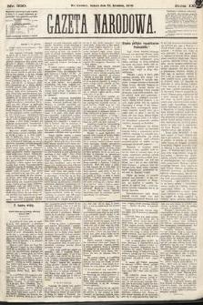 Gazeta Narodowa. 1870, nr330