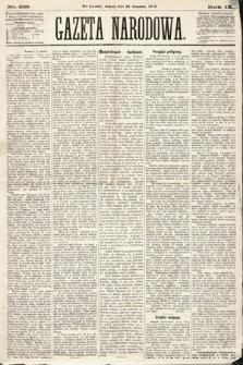 Gazeta Narodowa. 1870, nr336