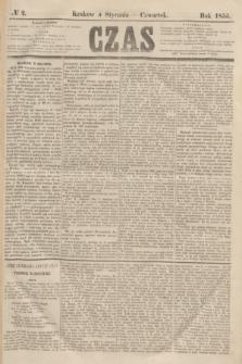 Czas. [R.8], № 2 (4 stycznia 1855)