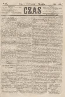 Czas. [R.8], № 10 (14 stycznia 1855)