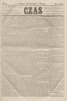 Czas. [R.8], № 11 (16 stycznia 1855)