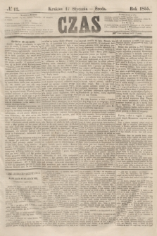 Czas. [R.8], № 12 (17 stycznia 1855)