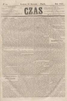 Czas. [R.8], № 14 (19 stycznia 1855)