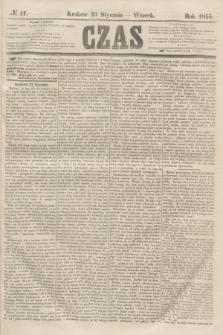 Czas. [R.8], № 17 (23 stycznia 1855)