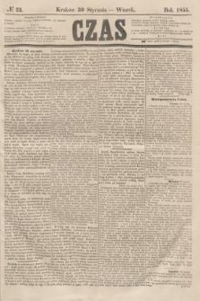 Czas. [R.8], № 23 (30 stycznia 1855)