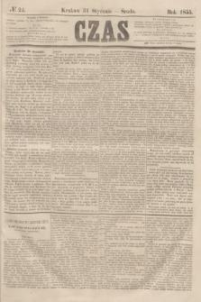 Czas. [R.8], № 24 (31 stycznia 1855)