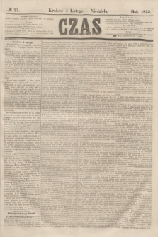 Czas. [R.8], № 27 (4 lutego 1855)