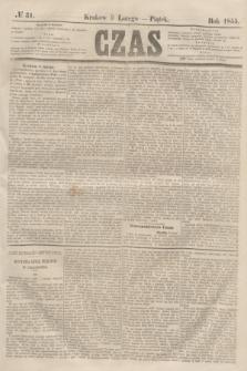 Czas. [R.8], № 31 (9 lutego 1855)