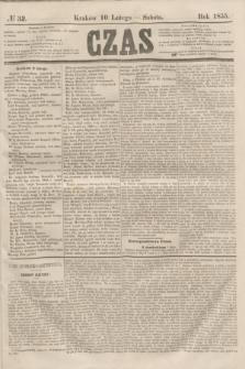Czas. [R.8], № 32 (10 lutego 1855)