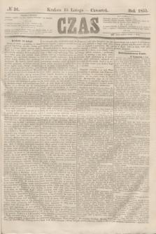 Czas. [R.8], № 36 (15 lutego 1855)