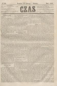 Czas. [R.8], № 38 (17 lutego 1855)