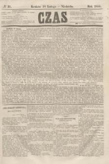 Czas. [R.8], № 39 (18 lutego 1855)