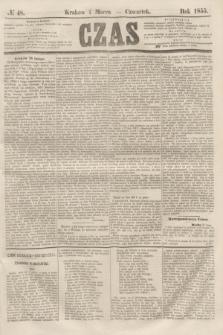 Czas. [R.8], № 48 (1 marca 1855)