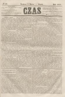 Czas. [R.8], № 49 (2 marca 1855)