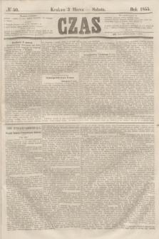 Czas. [R.8], № 50 (3 marca 1855)