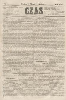 Czas. [R.8], № 51 (4 marca 1855)