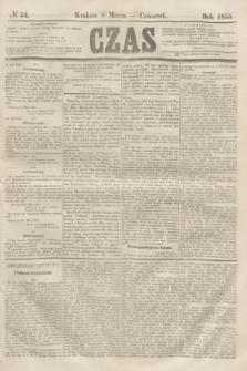 Czas. [R.8], № 54 (8 marca 1855)