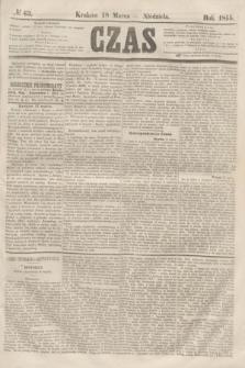Czas. [R.8], № 63 (18 marca 1855)