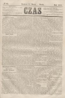 Czas. [R.8], № 65 (21 marca 1855)
