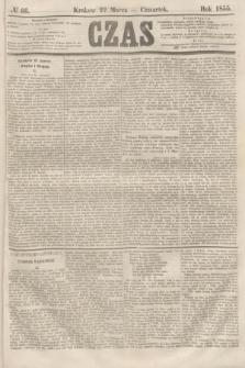 Czas. [R.8], № 66 (22 marca 1855)